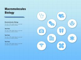 Macromolecules Biology Ppt Powerpoint Presentation Visuals