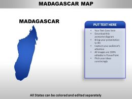 Madagascar Country PowerPoint Maps