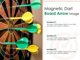 Magnetic Dart Board Arrow Image