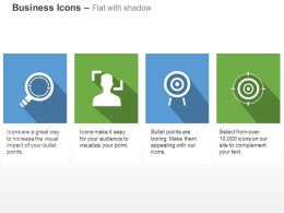 magnifier_business_target_customer_objective_ppt_icons_graphics_Slide01