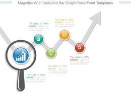 magnifier_with_tools_and_bar_graph_powerpoint_templates_Slide01