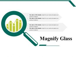 Magnify Glass Powerpoint Slide Graphics