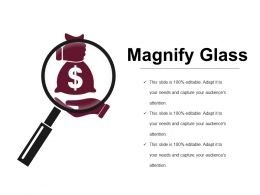 Magnify Glass Powerpoint Slide Inspiration