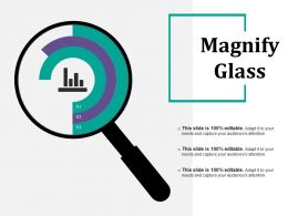 Magnify Glass Powerpoint Slide Show