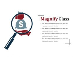 Magnify Glass Powerpoint Slide Templates Download