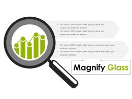 Magnify Glass Powerpoint Templates Microsoft