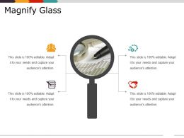 Magnify Glass Ppt Presentation