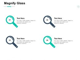 Magnify Glass Technology Big Data Ppt Powerpoint Presentation Ideas Summary