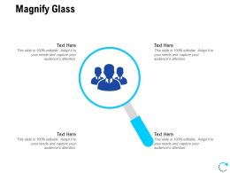 Magnify Glass Technology L811 Ppt Powerpoint Presentation Styles