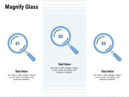 Magnify Glass Testing L886 Ppt Powerpoint Presentation Ideas