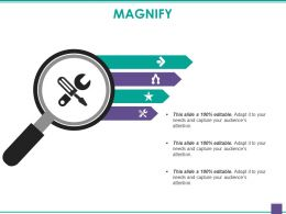 Magnify Powerpoint Slides Templates