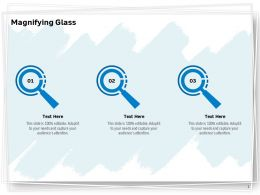 Magnifying Glass Audiences Attention Ppt Powerpoint Presentation Visual Aids Portfolio