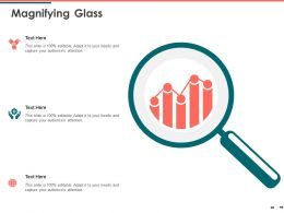 Magnifying Glass Audiences Attention Tecnology Ppt Powerpoint Presentation Outline Shapes