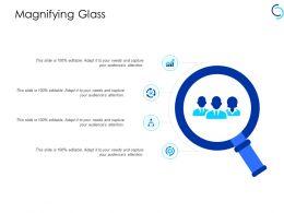 Magnifying Glass Big Dat Analysis Ppt Powerpoint Presentation Portfolio Master Slide