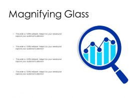Magnifying Glass Big Data Analyisis Ppt Powerpoint Presentation Pictures Themes