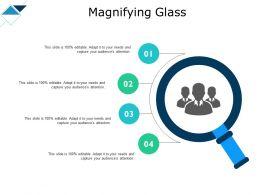 Magnifying Glass Big Data Analysis Ppt Powerpoint Presentation Maker