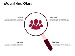 Magnifying Glass Big Data Technology D223 Ppt Powerpoint Presentation Infographic Template Show