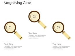 Magnifying Glass Big Data Technology D312 Ppt Powerpoint Presentation File Mockup