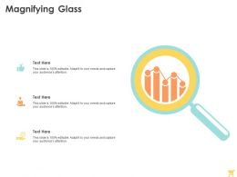 Magnifying Glass C1333 Ppt Powerpoint Presentation Styles Example
