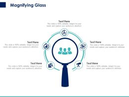 Magnifying Glass C1449 Ppt Powerpoint Presentation Show Inspiration