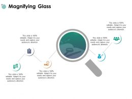 Magnifying Glass Dollar Our Team Ppt Powerpoint Presentation Icon Outline