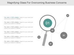 Magnifying Glass For Overcoming Business Concerns