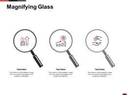 Magnifying Glass Market Segmentation K71 Ppt Powerpoint Presentation Examples