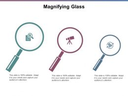 Magnifying Glass Marketing J201 Ppt Powerpoint Presentation File Graphic Tips