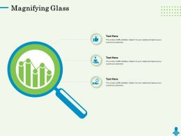 Magnifying Glass N186 Powerpoint Presentation Skills