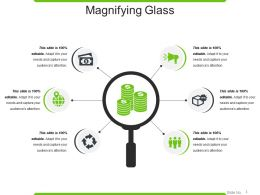 Magnifying Glass Powerpoint Slide Deck Samples