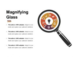 Magnifying Glass Powerpoint Slide Designs