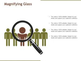 Magnifying Glass Powerpoint Slide Graphics