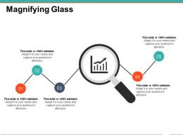 Magnifying Glass Powerpoint Slide Images Template 1