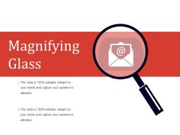 Magnifying Glass Powerpoint Slide Inspiration Template 2