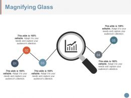 Magnifying Glass Powerpoint Slide Presentation Examples