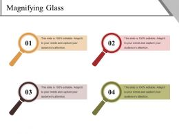 Magnifying Glass Powerpoint Slide Presentation Guidelines