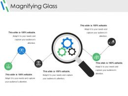 Magnifying Glass Powerpoint Slide Presentation Tips