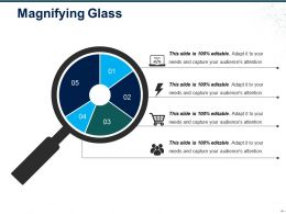 Magnifying Glass Powerpoint Slides
