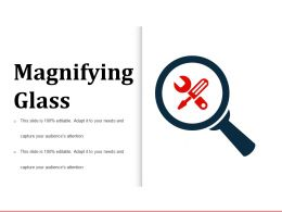 Magnifying Glass Powerpoint Templates Microsoft