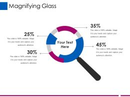 Magnifying Glass Ppt Designs
