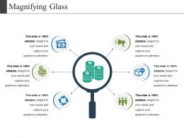 Magnifying Glass Ppt Examples Professional