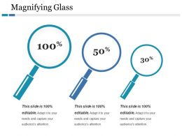 Magnifying Glass Ppt Gallery Infographics