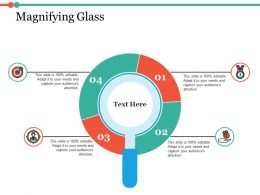 Magnifying Glass Ppt Infographic Template Example Introduction