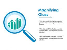 Magnifying Glass Ppt Infographic Template Model