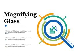 Magnifying Glass Ppt Infographics Graphics Pictures
