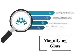 Magnifying Glass Ppt Inspiration Format Ideas