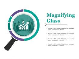 Magnifying Glass Ppt Layouts Ideas