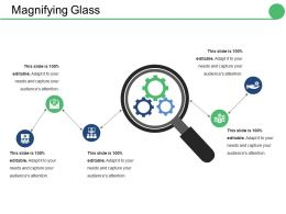 Magnifying Glass Ppt Layouts Slides