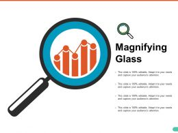 Magnifying Glass Ppt Model Show