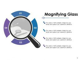 Magnifying Glass Ppt Pictures Graphics Template